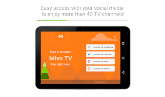 Screenshot of Mivo