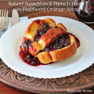 Baked Hasselback French Toast