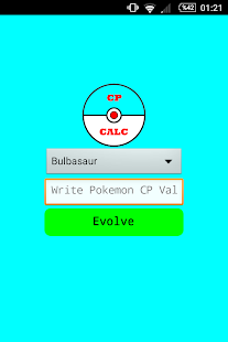 CP Evolution Calculator - screenshot