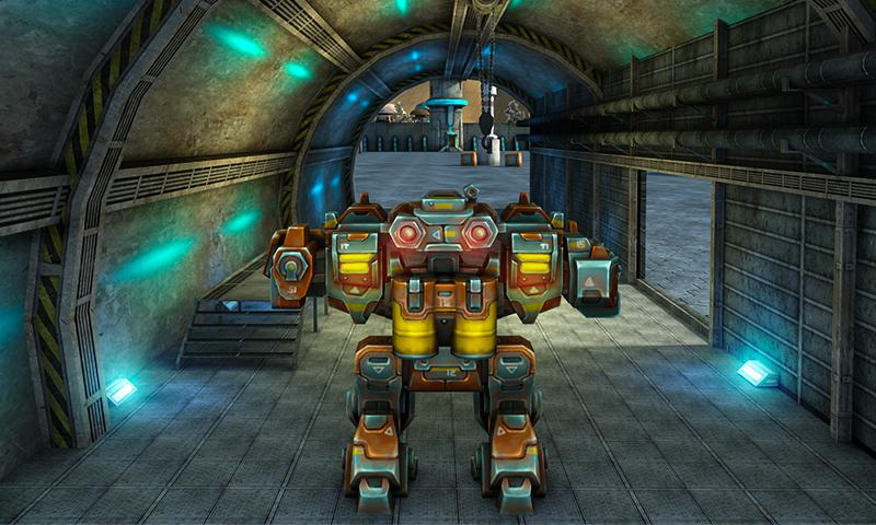 Mech Robot War 2050 Screenshot