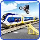 Highway Traffic Bike Stunts icon