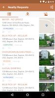 Screenshot of Dayton Delivers