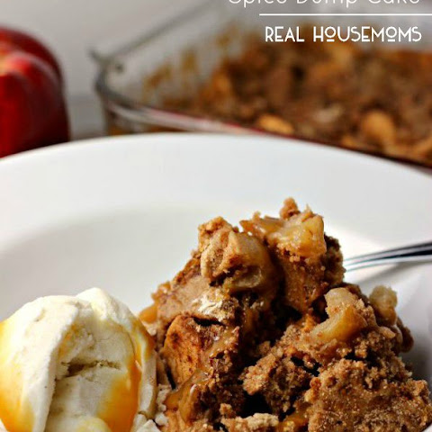 3-Ingredient Apple Spice Dump Cake
