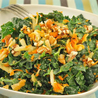 Kale, Carrot & Green Apple Slaw