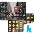 App Rainy NewYork Kika Keyboard APK for Kindle