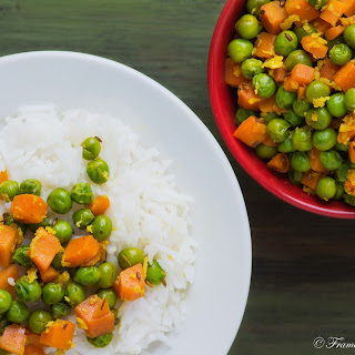 Green Peas Carrot Thoran