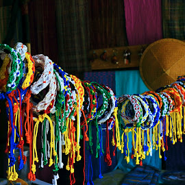 bands by Abhijit Roy - Artistic Objects Jewelry ( band, colorful, colors, tag, friendship )