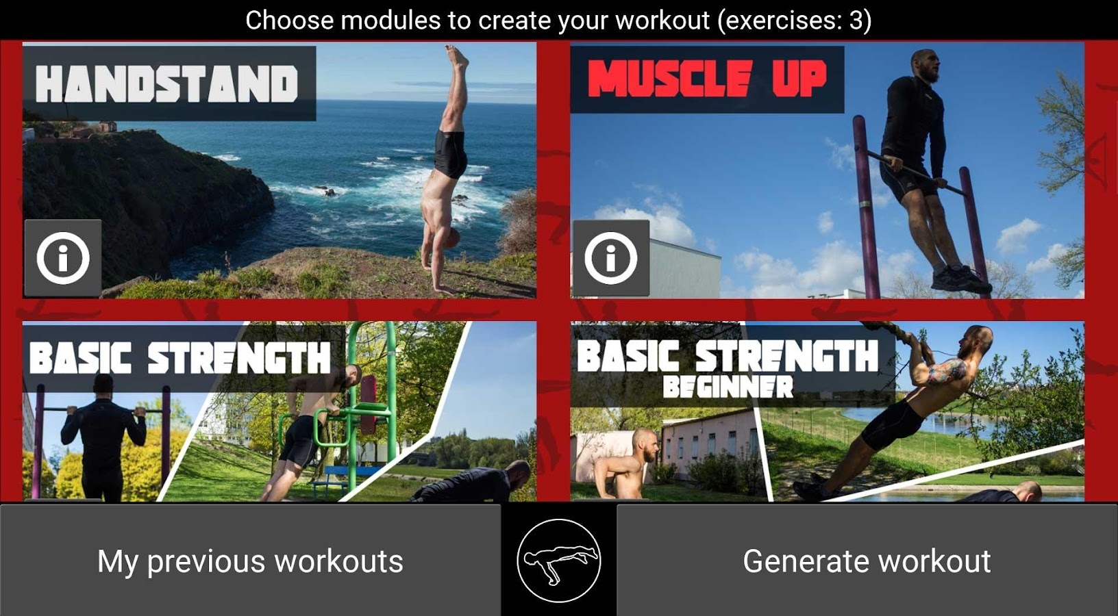 TrainingPal Screenshot 1