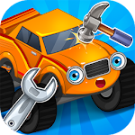 Repair machines - monster trucks Icon
