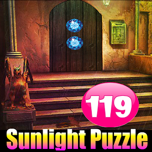 Sunlight Puzzle Escape 119