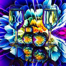 Burst by Lisa Hendrix - Artistic Objects Glass