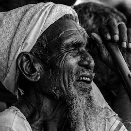Gaze by Mihir Mondal - People Portraits of Men ( potrait, villager )