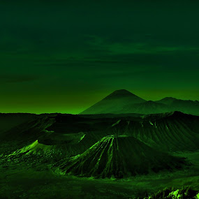 Bromo Mountain by Niko Wazir - Digital Art Places