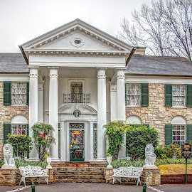 by Jackie Eatinger - Buildings & Architecture Homes ( memphis, graceland,  )