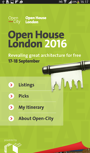 Open House London 2016 - screenshot