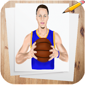 Download Full How to Draw Basketball Stars Characters 0.0.1 APK