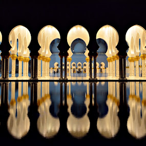 by Sanjiban Ghosh - Buildings & Architecture Other Exteriors ( reflection, reflections, mirror, shapes geometric patterns ,  )
