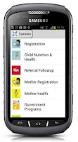Screenshot of CommCare v2