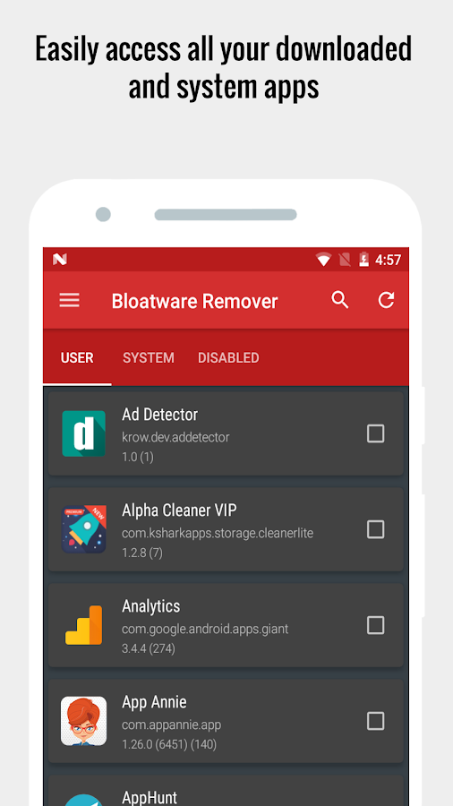 Bloatware Remover VIP [Clean bloat] - 50% OFF Screenshot 6