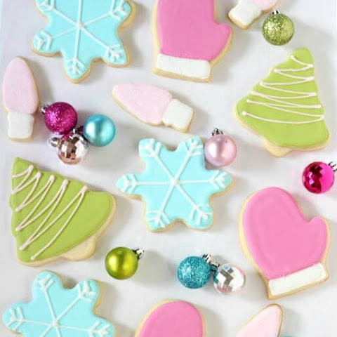 Royal Iced Sugar Cookies