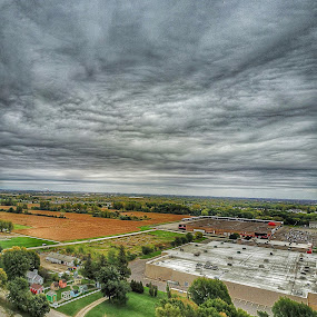 LooksRainy by Bob White - Landscapes Cloud Formations ( clouds, drone, sky, fly, rain, up,  )