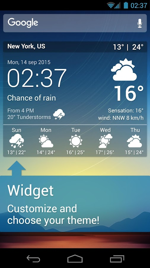 Weather XL PRO Screenshot 6