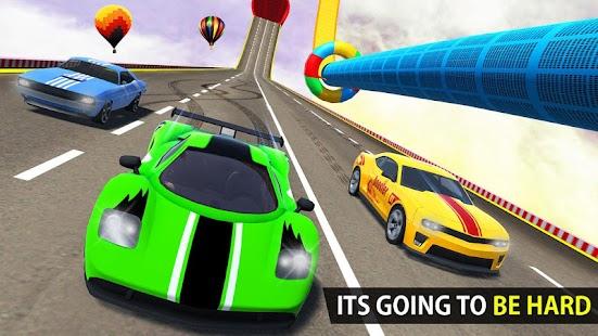Mega Ramp Car Racing Stunts 3D: New Car Games 2020