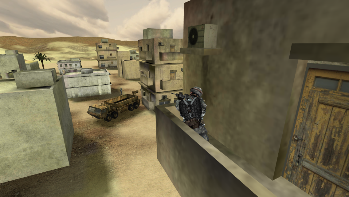 Sniper Commando Assassin 3D Screenshot 0