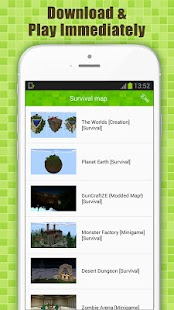 Survival Maps for Minecraft PE - screenshot