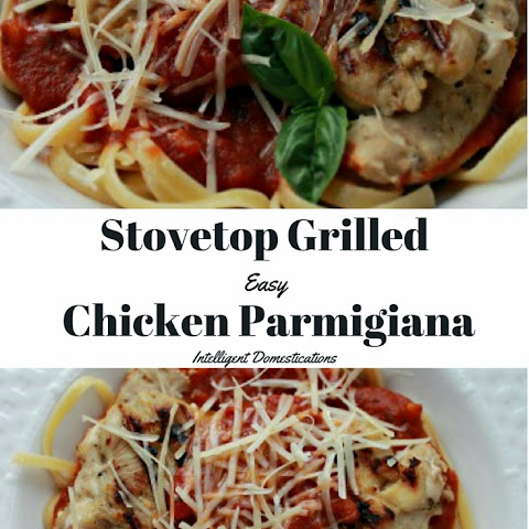 Stovetop Grilled Easy Chicken Parmigiana