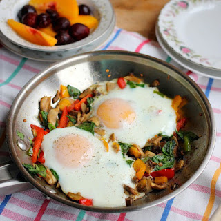 Roasted Veggie Breakfast Skillet for One