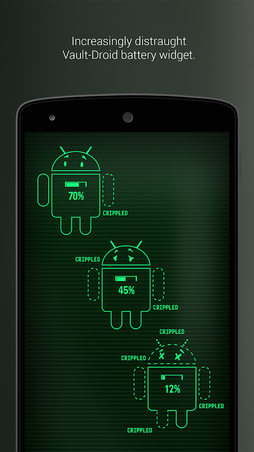 PipTec Pro - Green Icons & Live Wallpaper Screenshot 4