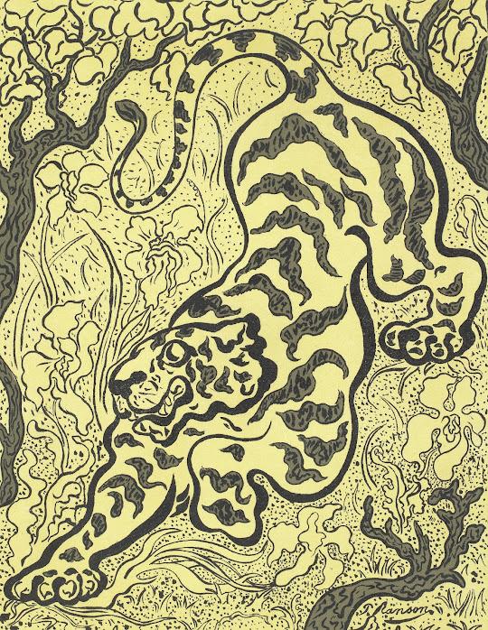 Tigre dans les Jungles (Tiger in the Jungle)