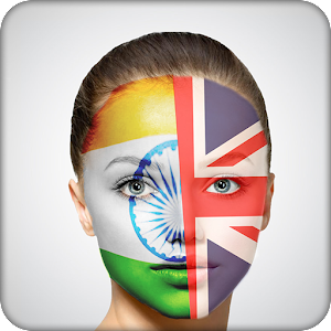 Face Flag Paint
