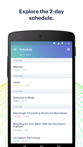 F8 Android App Screenshot