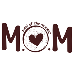 Meals of the Moment (MOM), ,  logo