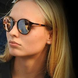 blond girl by Patrizia Emiliani - People Portraits of Women ( blond, girl,  )