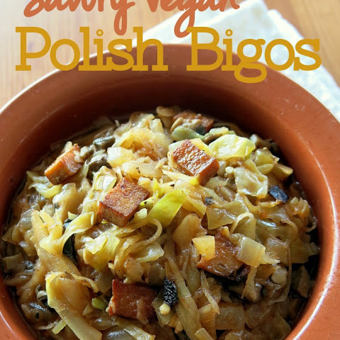 Polish Hunter's Stew (Vegan)