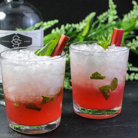 Rhubasil Cocktail