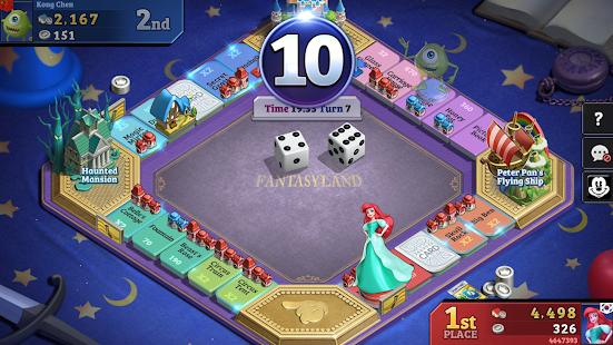 Disney Magical Dice: Das verzauberte Brettspiel android spiele download