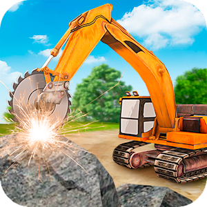 Heavy Excavator  Stone Cutter Simulator For PC / Windows 7/8/10 / Mac – Free Download