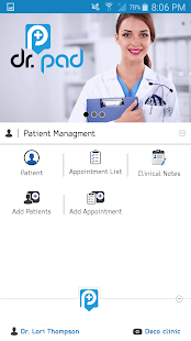 Patient Medical Records Doctor screenshot for Android