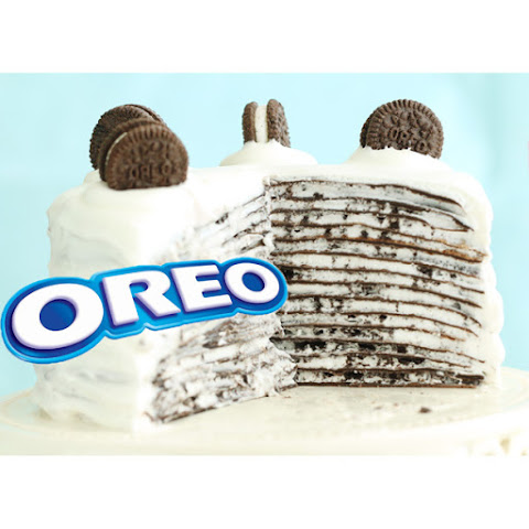 How to Make Oreo Mille Crepe Cake