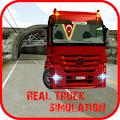 Actros Truck Simlation Real ! APK for Bluestacks