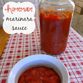Homemade Marinara Sauce Recipe #PEPCIDTastemakers