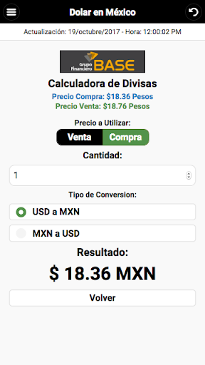 Dollar Price in México screenshot 4