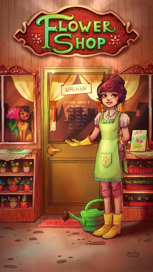 Blossom Jam: Flower Shop Screenshot