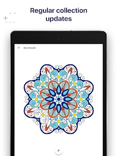 Coloring Book for Me & Mandala