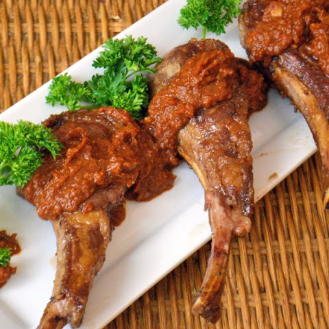 Lamb Chops with Romesco