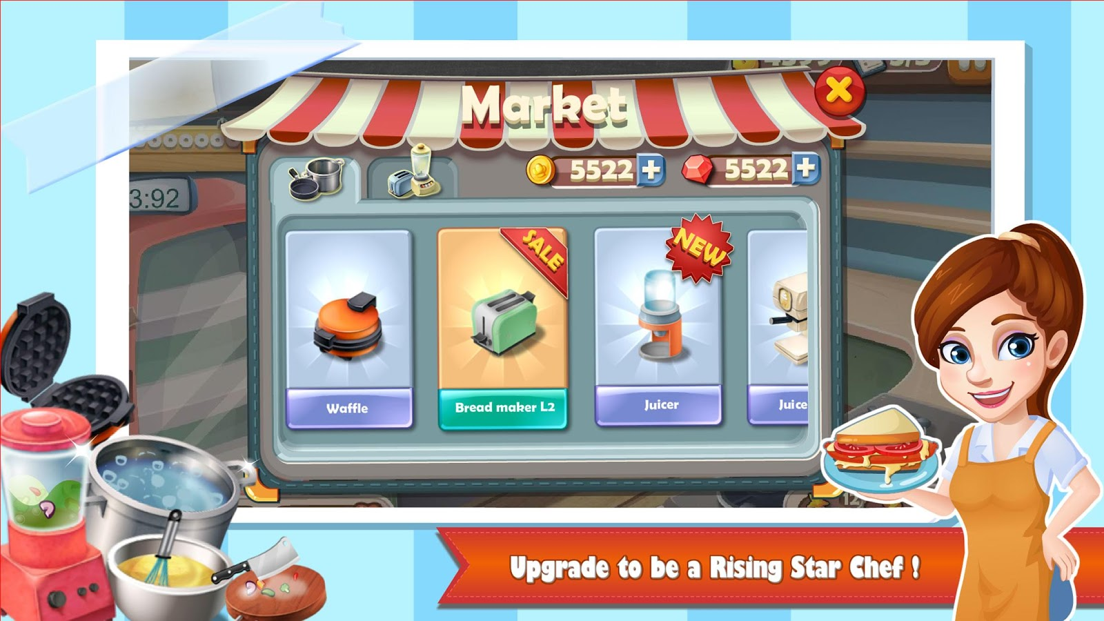 Rising Super Chef:Cooking Game Screenshot 8